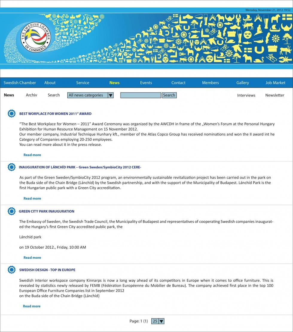 SCCH Weblap